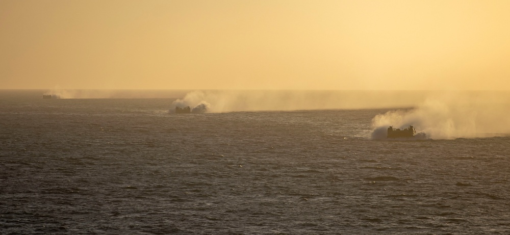 Makin Island Underway