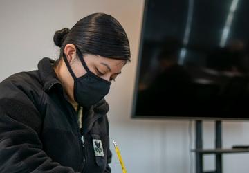 NTAG Philadelphia Sailors take E-7 advancement exam