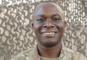 African-Born American Soldier reminisces journey to the United States