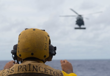 USS Princeton Conducts Flight Ops