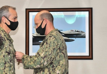 Blue Ridge Conducts Change of Command Ceremony