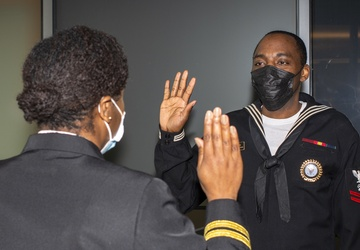 NTAG Philadelphia Sailor reenlists in his hometown