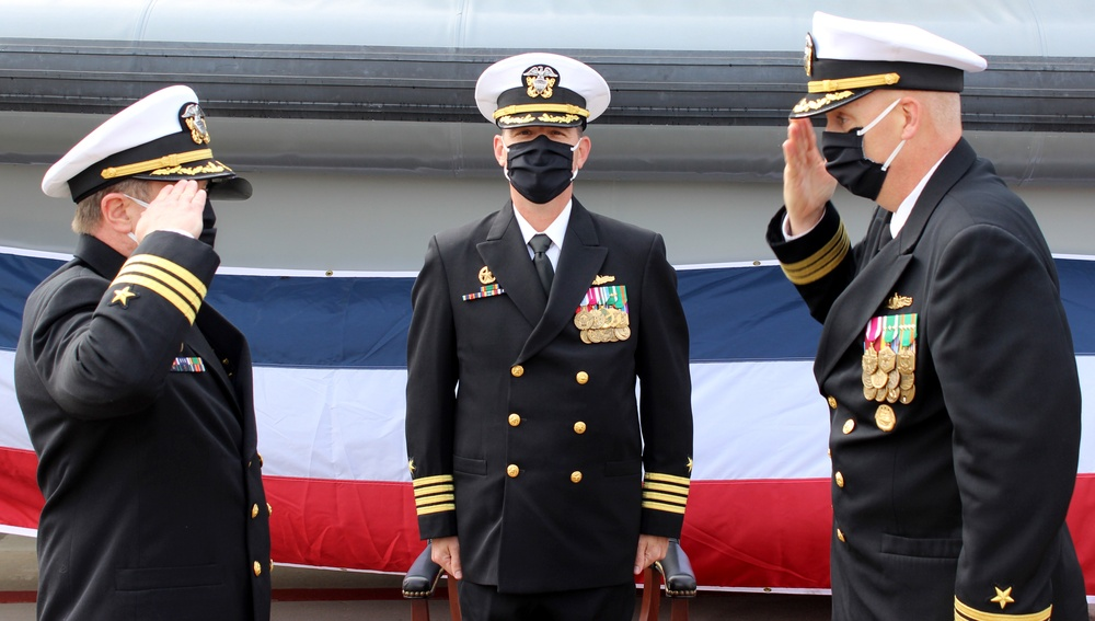 MSRON-3 Holds Change of Command