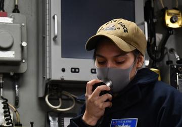 Blue Ridge Sailors Train and Learn