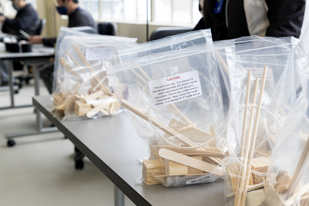 Navy commands provide STEM kits for community during pandemic
