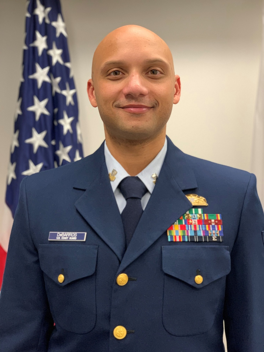 Coast Guard Petty Officer 1st Class Jaime DeBarros is 17th District Enlisted Person of the Year 2020