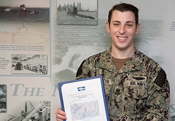 NUWC Division Newport military detachment members honored with several awards