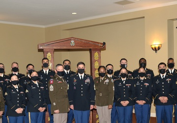 Weed ACH hosts NCO Induction Ceremony