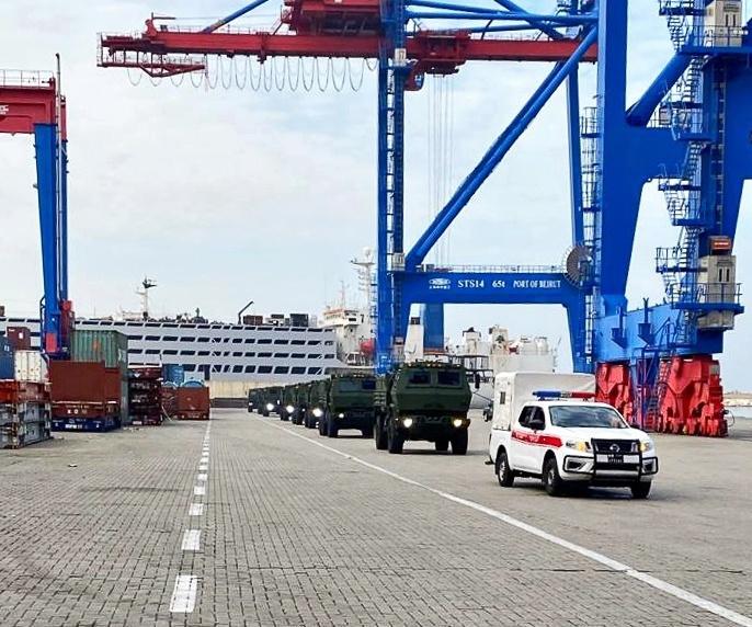FMTV trucks delivered to Lebanon