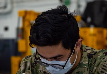 USS Carl Vinson (CVN 70) Sailors Receive COVID-19 Vaccine