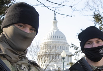 Identical Brothers-in-Arms Serve Together in DC