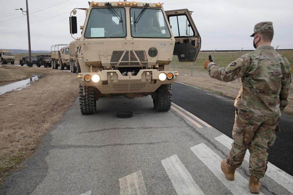 Texas Guardsmen support winter storm relief in North Texas