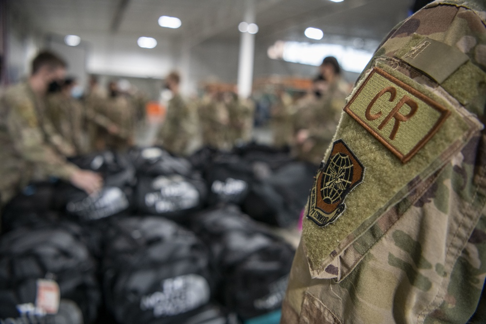 821st CRG deploys to support FEMA's aid to Texas