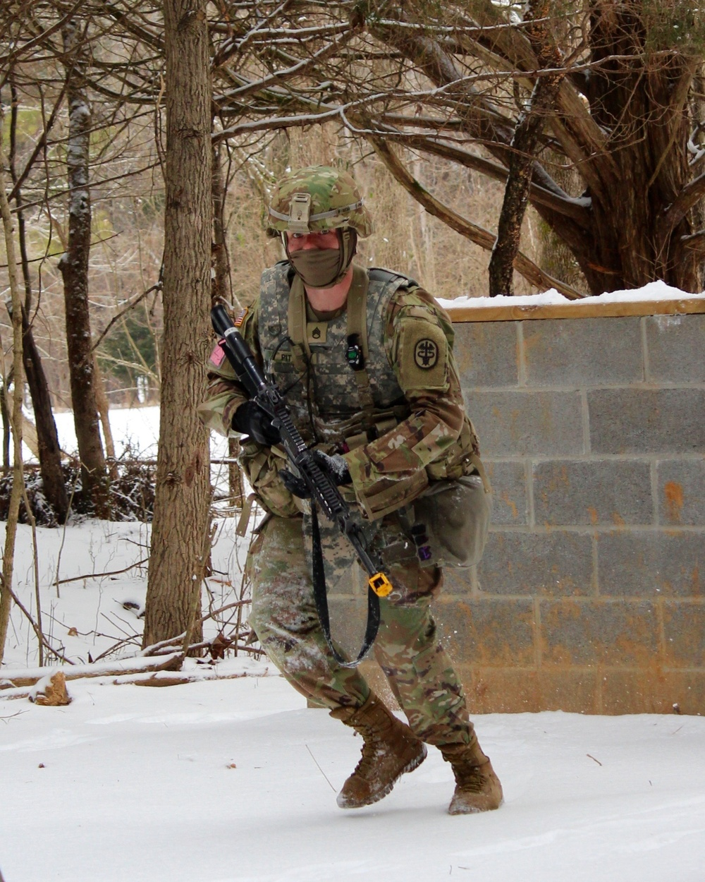 Soldiers overcome extreme elements in quest to be Best Warrior