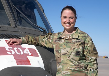 Texan Leads Army Medevac Company at Fort Bliss