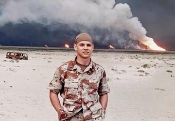 Desert Storm 30th anniversary: Doug Faith
