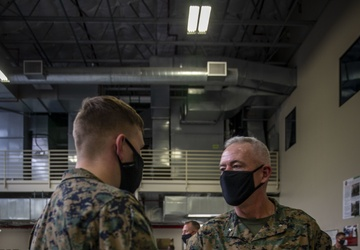 Marines awarded challenge coins for postal operation assistance