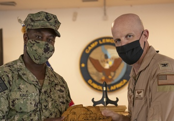 CLDJ Sailors Receive Honors During Ceremony
