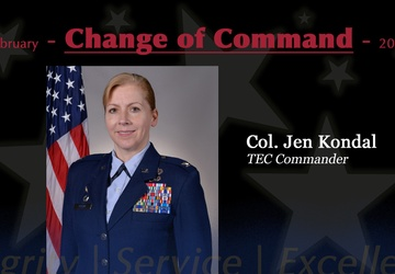 Kondal takes command of I.G. Brown Training and Education Center