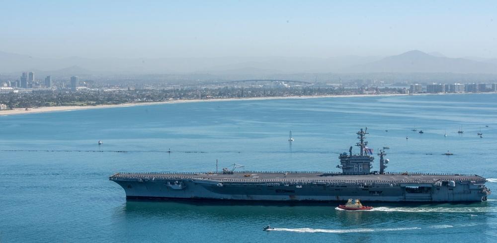 Nimitz Carrier Strike Group Returns from Deployment