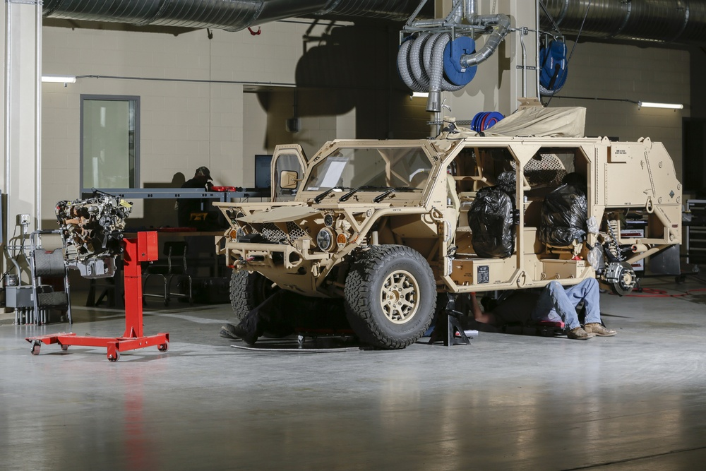 Special Operations Command GMVs coming to Production Plant Barstow