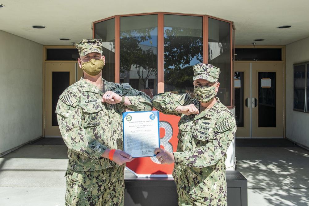 NMCB-3 Seabee Receives 2020 Stethem Award