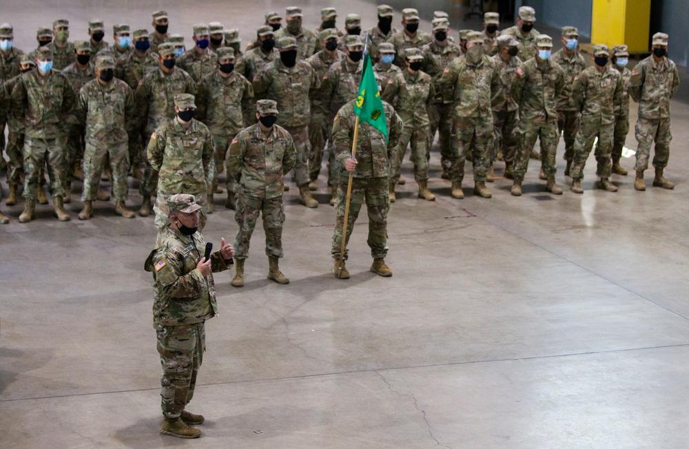 330th Military Police Company heads to Alaska