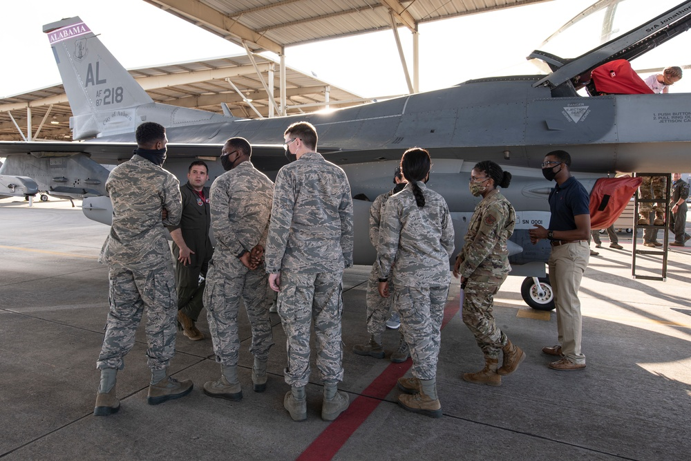 Accelerating the Legacy: Dannelly Field Hosts AFROTC Cadets