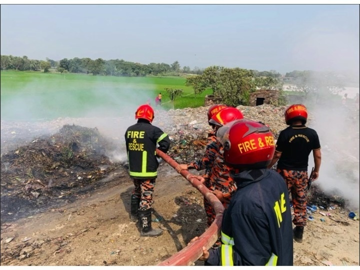 Newly Learned First Responder Skills Tested in Bangladesh