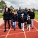 Best Friends Compete in 100-meter Sprint