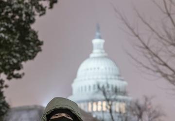 Michigan National Guard Provides Support at U.S. Capitol