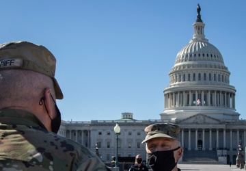 JADOC Commander Maj. Gen. Sheriff Visits Troops in DC