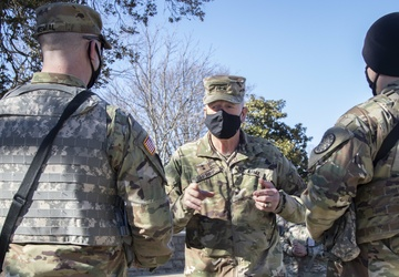 JADOC Commander Visits Michigan National Guard in DC
