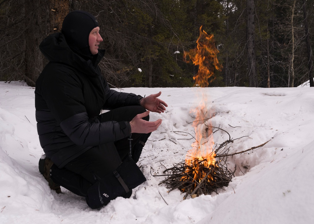Stay frosty: SERE arctic training