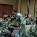 U.S. Air Force COVID-19 response team conduct deployment brief