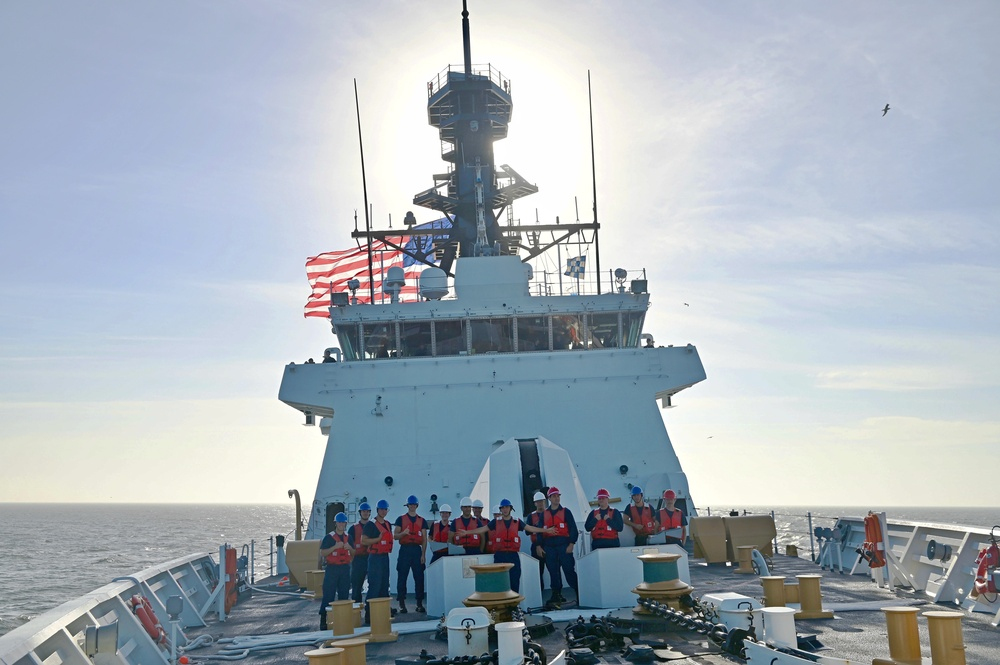 USCGC Stone (WMSL 758) completes Operation Southern Cross