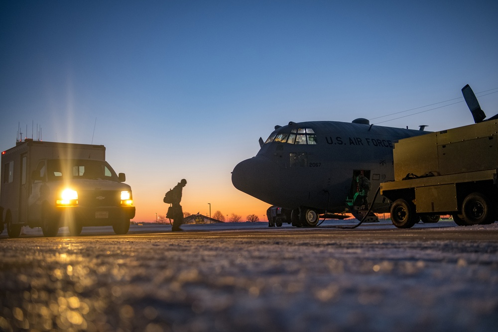 179th Airlift Wing Deploy to Middle East