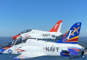 Training Squadron 86 Changes Command at NAS Pensacola