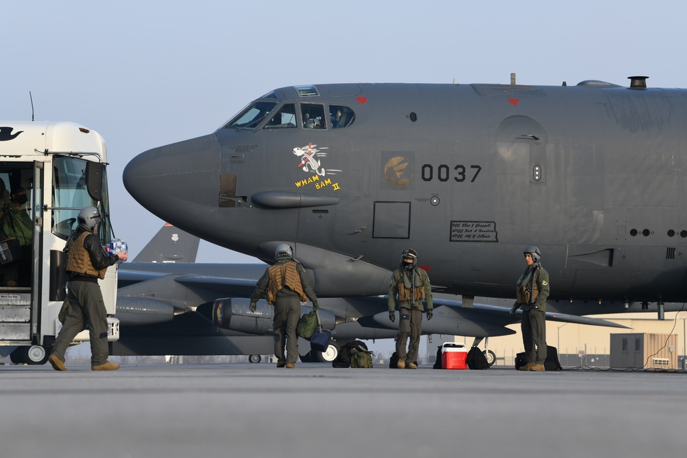 Bomber Task Force mission to Middle East