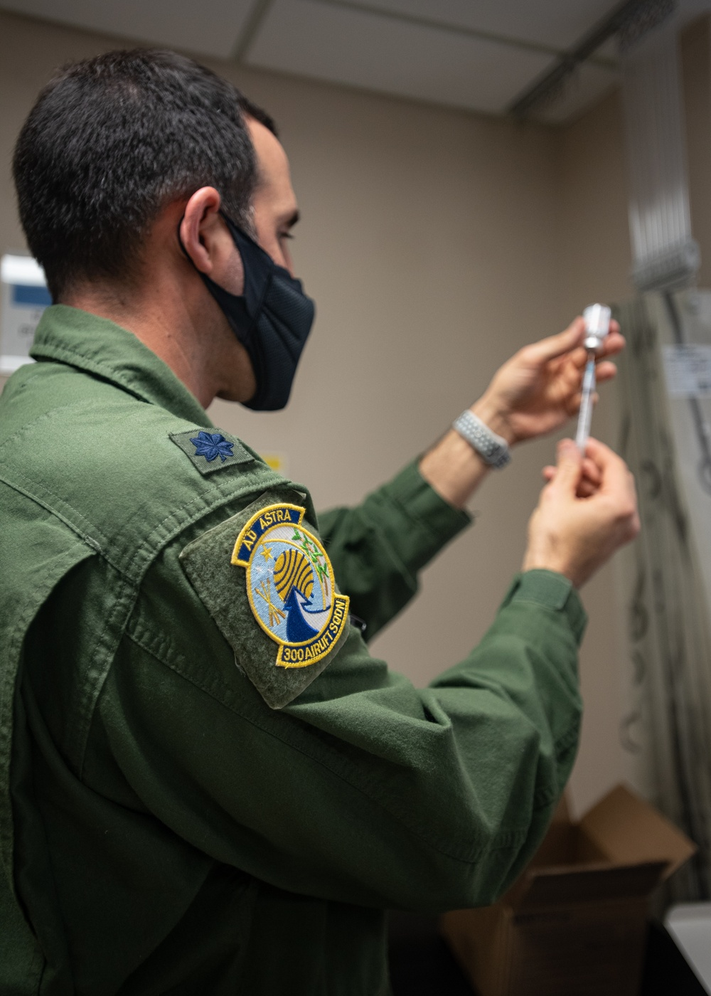 315th Airlift Wing begins vaccinations