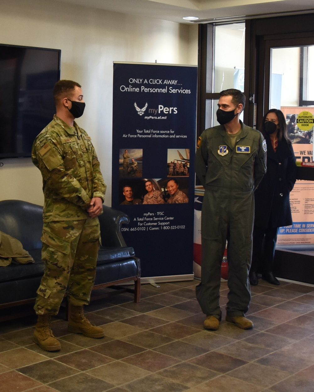 Lt. Gen. Sasseville visits NCANG