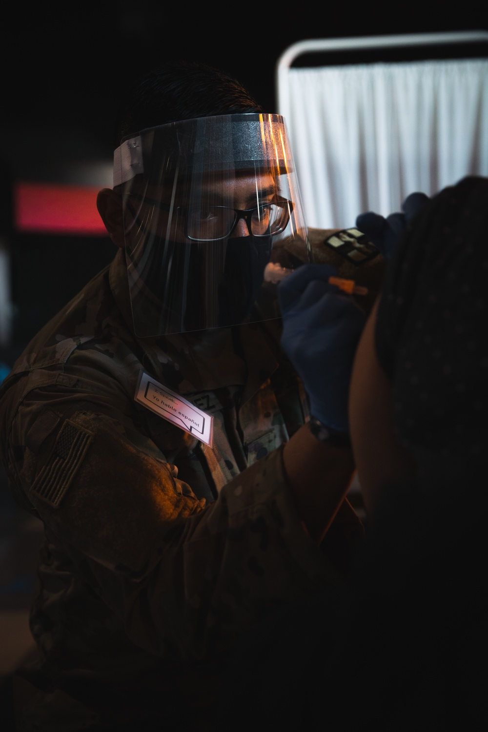 U.S. Army conducts soft launch of the Camden Community Vaccination Center