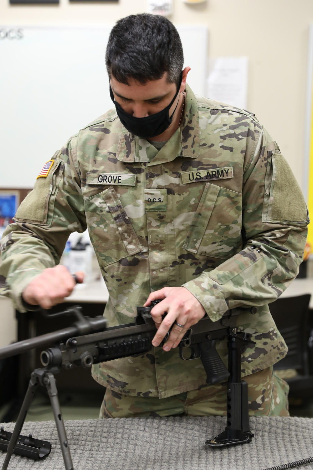 Leading from the front: officer candidates prepare for real-world operations