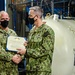 Naval Submarine School Chief presented with Instructor of the Year Award