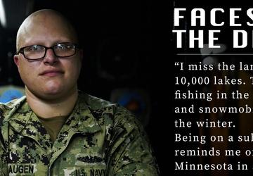 Faces of the Deep: MMA1 Aaron Haugen