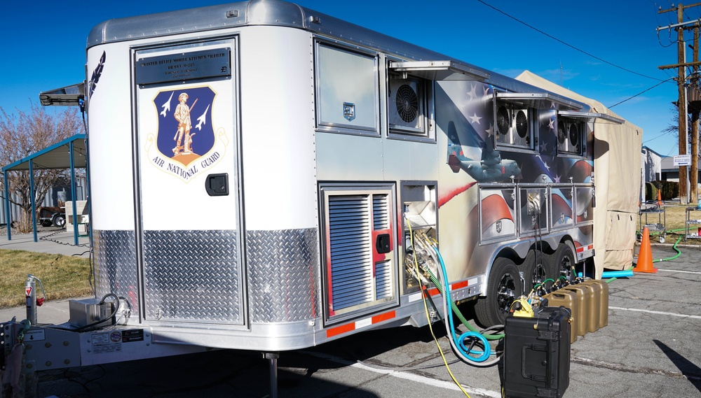What's cooking? Nevada Air Guard Receives New Mobile Kitchen.