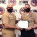 Commander, Navy Recruiting Command presents National Awards to NTAG San Antonio Sailors