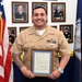 NTAG San Antonio Sailor presented with DOD Letter of Thanks