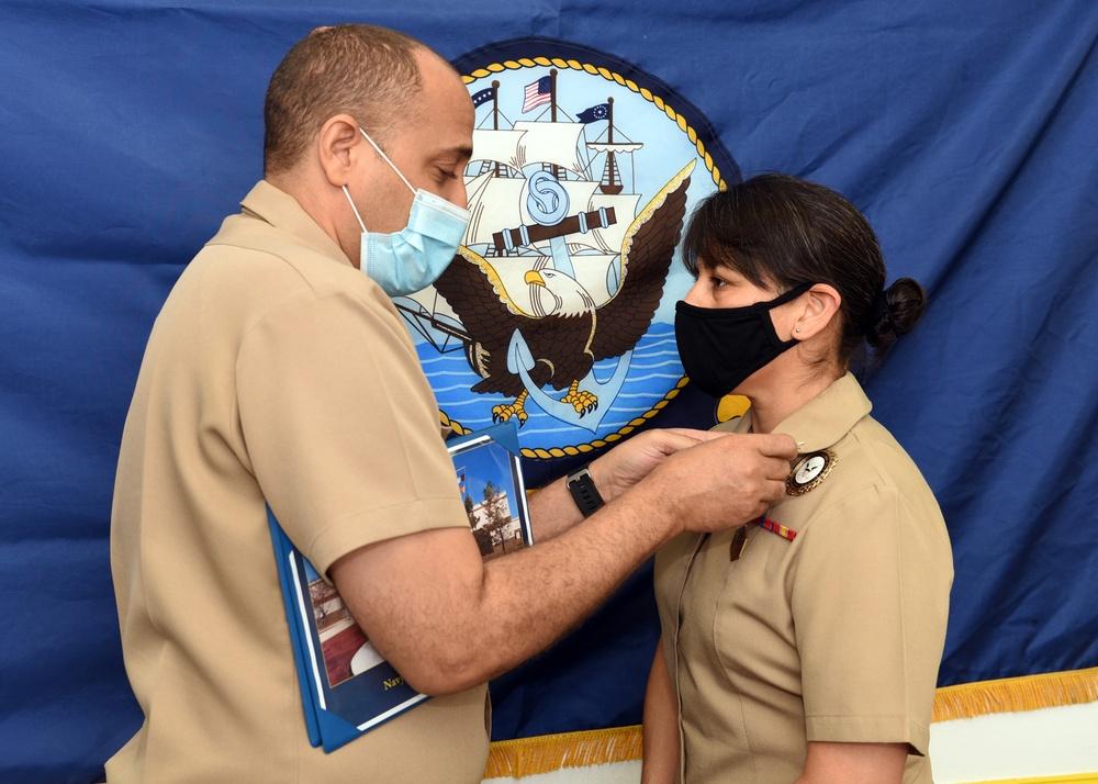 Rio Grande Valley Sailor earns NTAG San Antonio Recruiter of the Year Awards