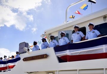U.S. Coast Guard commissions 42nd Sentinel-Class cutter USCGC Robert Goldman in Key West